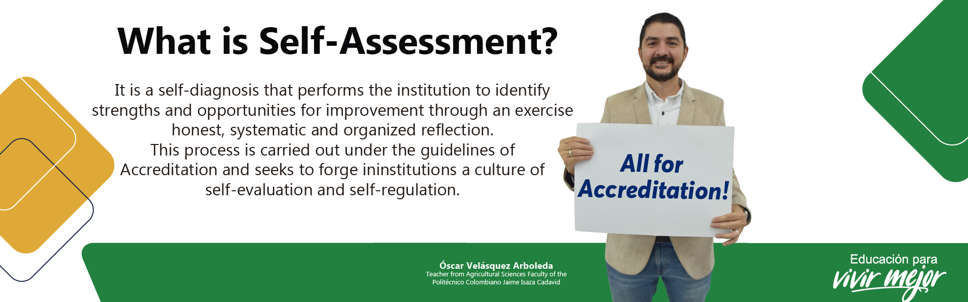 What is self-assesment?